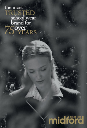 Midford - the most trusted school wear brand for over 75 years